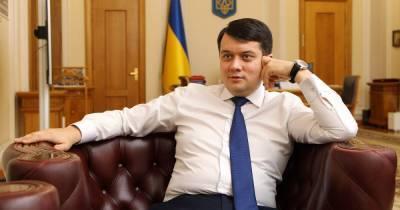 Время Разумкова. Спикер Рады — о кнопкодавстве, собственной политической игре и Зеленском