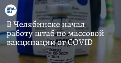 В Челябинске начал работу штаб по массовой вакцинации от COVID