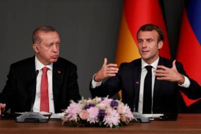 «Сбившийся с пути» Макрон написал Эрдогану «очень хорошее» письмо