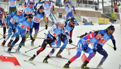 Украина заняла шестое место в мужской эстафете в Оберхофе