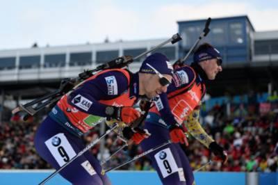 Украинская мужская сборная по биатлону на чемпионате мира показала лучший результат в сезон