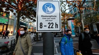 В Германии за сутки выявлено более чем 18 тысяч случаев коронавируса