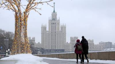 Жителям Москвы пообещали снегопад и мороз