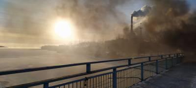 """Питкяранта в дыму: в аварийном городе """"варят новый трубопровод"""" (ФОТО)"""