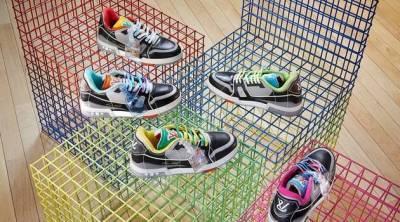 Вирджил Абло выпустит кроссовки LV Trainer, выполненные из переработанной обуви Louis Vuitton