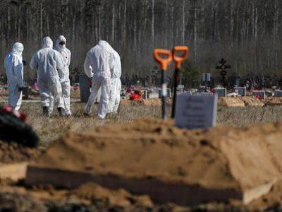 Смертность в омской области на четверть выше, числа официально погибших от пандемии