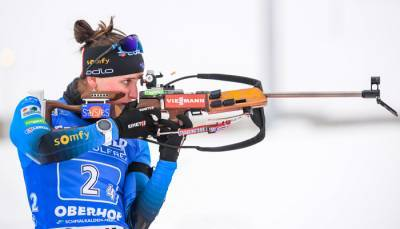 Симон стала победительницей масс-старта в Оберхофе