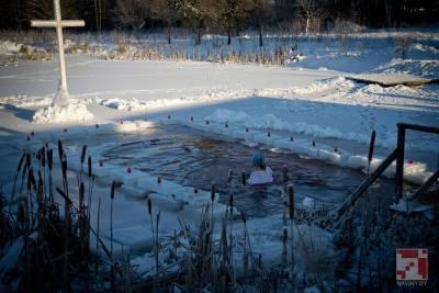 В Минске и пригородах оборудуют восемь мест для купания на Крещение