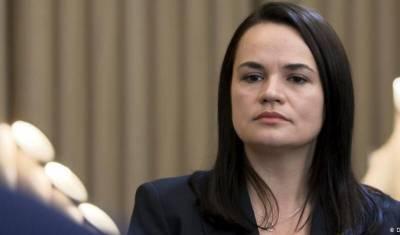 Тихановская обратилась в ОБСЕ за помощью в безопасном возвращении в Минск