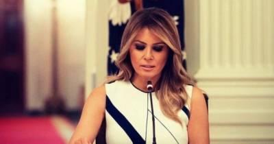 Мелания Трамп обратилась к американцам с прощальной речью (видео)