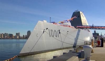 Во французской прессе: Эсминец Zumwalt ВМС США превратился в карикатуру