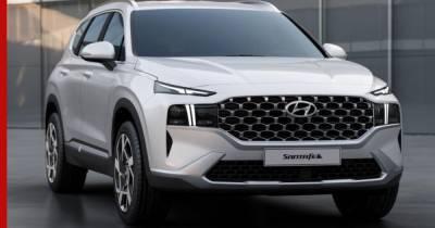 Обновленный Hyundai Santa Fe в России получит новый мотор