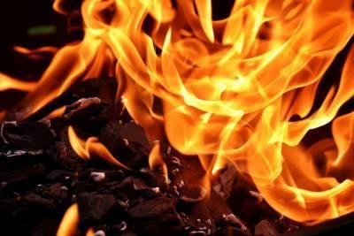В Томске произошел пожар в похоронном бюро