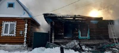 В Башкирии на пепелище нашли тело мужчины
