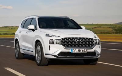 Обновленный Hyundai Santa Fe прошел сертификацию в России