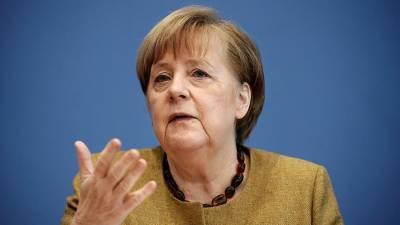 Меркель назвала «неуместным средством» санкции США по «Северному потоку – 2»