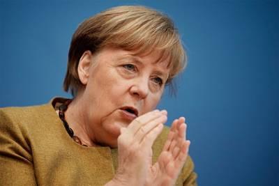 Меркель назвала неуместными санкции США против «Северного потока-2»