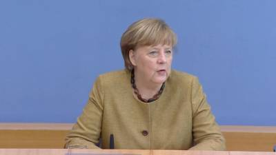 """Меркель обсудит с Байденом судьбу """"Северного потока – 2"""""""