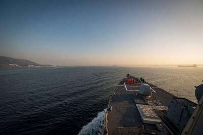 """Моряки ВМС США попрощались со сломанной """"Свободой"""""""