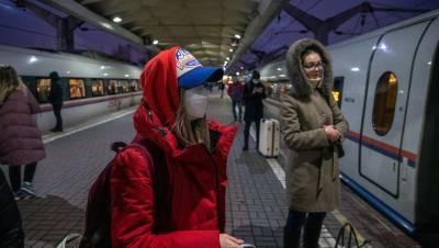 Петербург попал в тройку городов для путешествий на поездах в январе