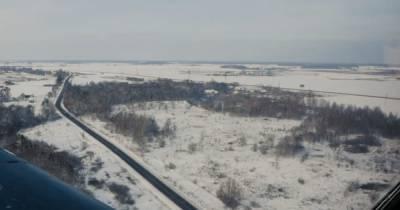 Реки и заснеженные поля: пилоты показали Калининградскую область с высоты (видео)