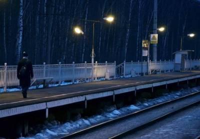 На станции «Старая Деревня» мужчина с телефоном не заметил поезд