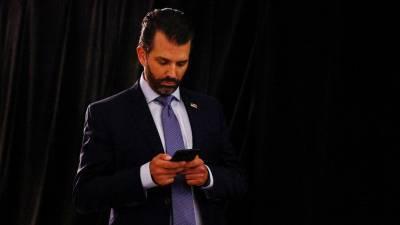 Сын Трампа в Telegram-канале призвал избегать «большой тройки» соцсетей