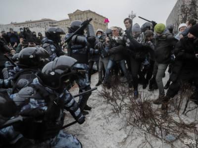 """""""Путин – вор"""". По всей России проходят акции протеста в поддержку Навального, СМИ пишут о небывалом масштабе митингов"""