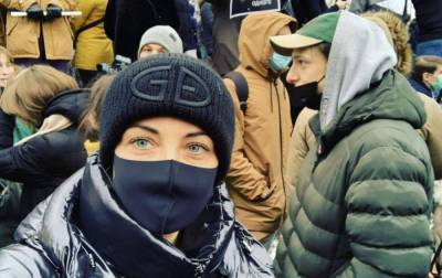 В Москве отпустили из полиции жену Навального
