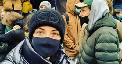 Жену Навального Юлию отпустили из полиции