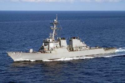 В акваторию Черного моря зашел эсминец ВМС США