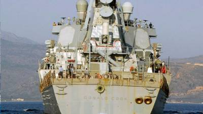 Эсминец ВМС США замечен в акватории Черного моря