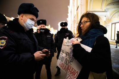 Россия: более трех тысяч задержаны за участие в демонстрациях «Свободу Навальному!»