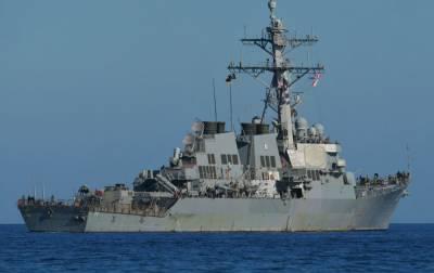 Эсминец ВМС США зашел в Черное море