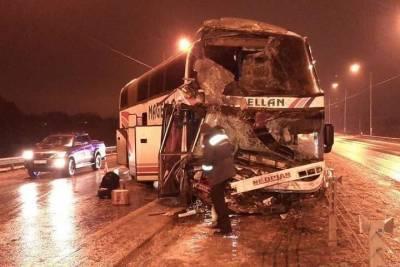 В Тамбовской области пассажирский автобус столкнулся с фурой: есть пострадавшие