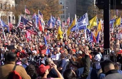 Трамп собирает свой «майдан»: в США готовится массовый марш несогласных с итогами выборов