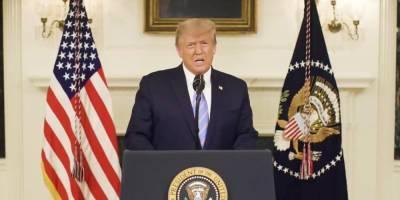 Трамп вернулся в Twitter и пообещал мирную передачу власти Байдену, осудив штурм Капитолия