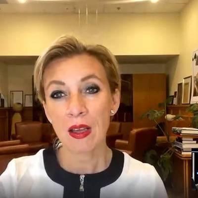 Захарова предложила Зеленскому беспокоиться о задержанных на Украине и заявлениях СБУ