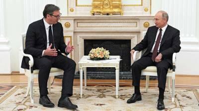 Вучич выразил надежду на встречу с Путиным до конца года