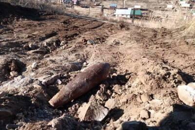В Бурятии при строительстве дома нашли минометную мину