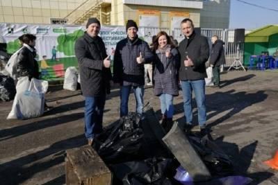 Экоактивисты собрали более 2 тонн мусора на тропах здоровья в Томске