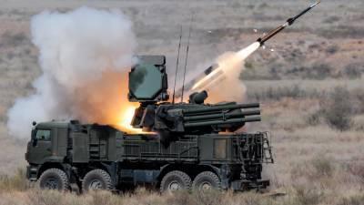 Российские ЗРПК «Панцирь-С» отразили израильскую ракетную атаку по сирийскому аэропорту