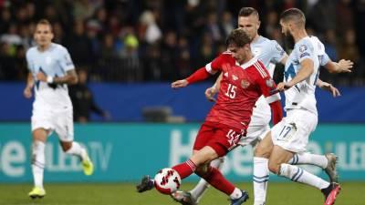 Дюков заявил, что сборная России получала удовольствие от футбола в матче со Словенией