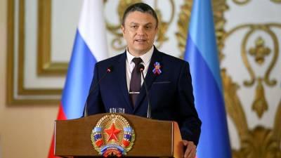 Глава ЛНР предложил Зеленскому встретиться