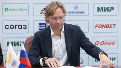 Валерий Карпин продолжит работу со сборной России по футболу в 2022 году