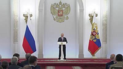 Путин проводит встречу с депутатами Госдумы VIII созыва