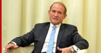 Медведчук заявил, что Зеленский должен вести переговоры с Путиным
