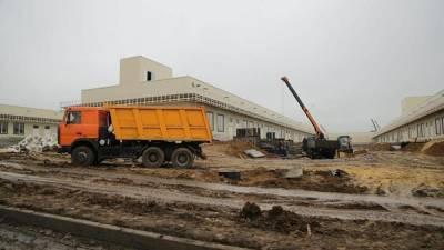 Открытие новой инфекционной больницы в Ростове-на-Дону снова откладывается