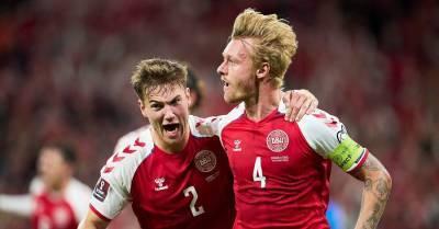 Сборная Дании вышла на ЧМ-2022. У скандинавов восемь побед в восьми матчах с разницей мячей 27:0