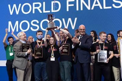 Россияне выиграли самый престижный мировой чемпионат программистов